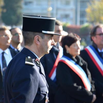 Cérémonie 1er novembre - Schiltigheim