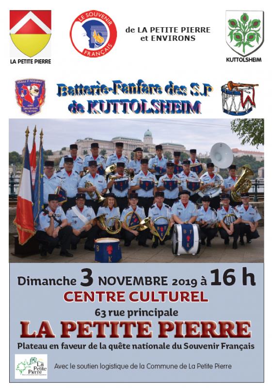 Concert en faveur du Souvenit Français