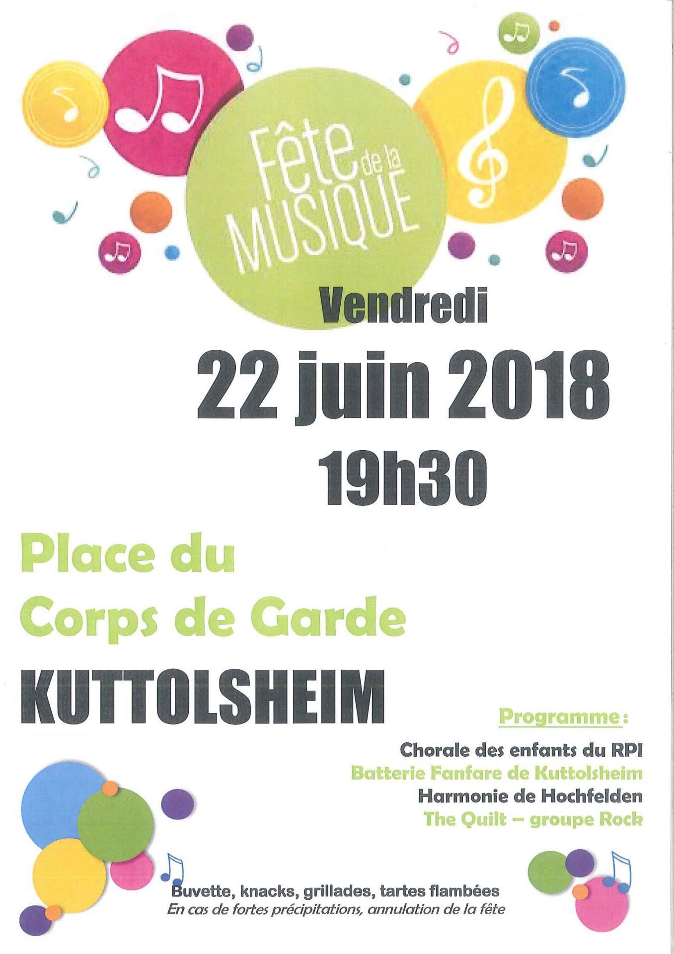 Fete musique 2018 kuttolsheim