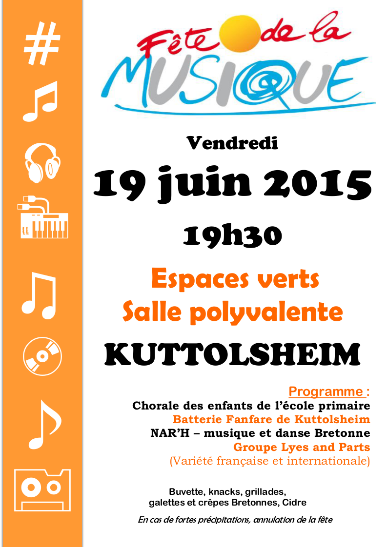Kuttolsheim fete musique 2015